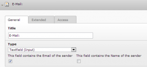 Email Form Field